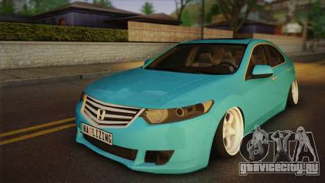 Honda Accord 2010 Hellaflush для GTA San Andreas