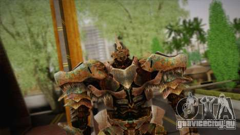 Гримлок v1 для GTA San Andreas третий скриншот
