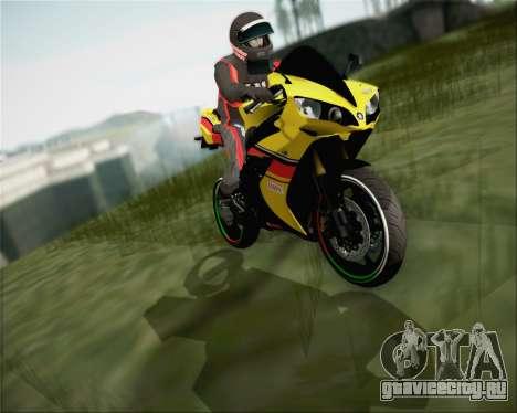 Yamaha R1 HBS Style для GTA San Andreas