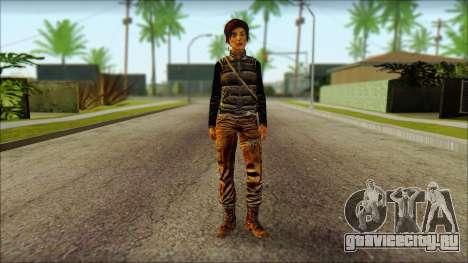 Tomb Raider Skin 1 2013 для GTA San Andreas
