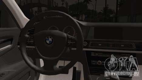 BMW 760 для GTA San Andreas вид сзади слева