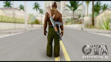 MR T Skin v7 для GTA San Andreas второй скриншот