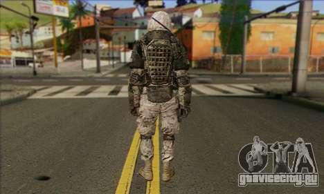 Task Force 141 (CoD: MW 2) Skin 3 для GTA San Andreas второй скриншот