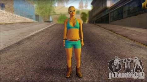 Tracey De Santa для GTA San Andreas