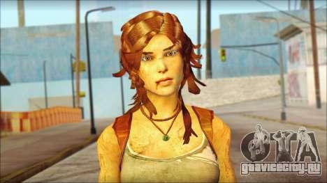 Tomb Raider Skin 7 2013 для GTA San Andreas третий скриншот
