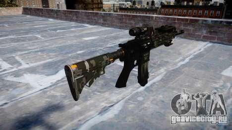 Автоматический карабин Colt M4A1 ce digital для GTA 4 второй скриншот
