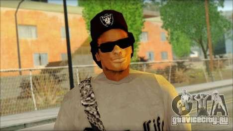 Afro - Seville Playaz Settlement Skin v2 для GTA San Andreas третий скриншот