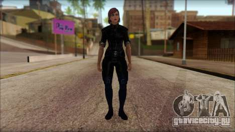 Mass Effect Anna Skin v5 для GTA San Andreas