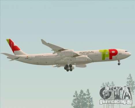 Airbus A340-312 TAP Portugal для GTA San Andreas двигатель