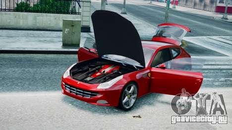 Ferrari FF для GTA 4 вид сзади слева