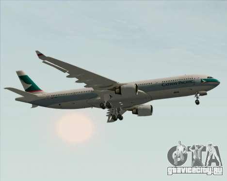 Airbus A330-300 Cathay Pacific для GTA San Andreas двигатель