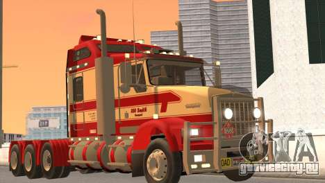 Kenworth T800 Road Train 8X6 для GTA San Andreas