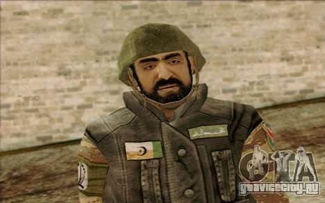 Солдат МЕК (Battlefield 2) Skin 1 для GTA San Andreas третий скриншот