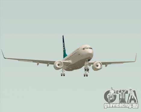 Boeing 737-800 Air New Zealand для GTA San Andreas вид сверху