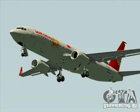 Boeing 737-89L Air China для GTA San Andreas вид сбоку