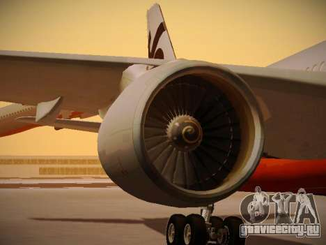 Airbus A330-200 Jetstar Airways для GTA San Andreas колёса