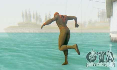Skin The Amazing Spider Man 2 - Suit Assasin для GTA San Andreas второй скриншот