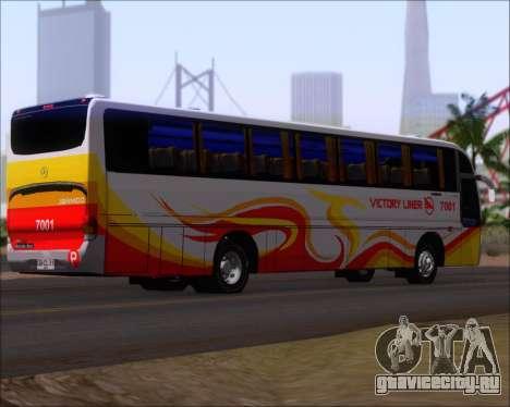Marcopolo Victory Liner 7001 для GTA San Andreas вид справа