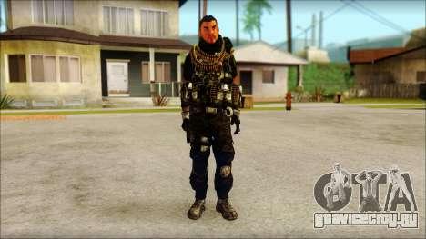 Australian Resurrection Skin from COD 5 для GTA San Andreas