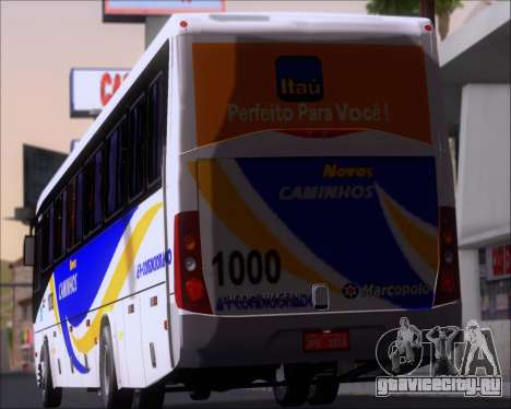 Marcopolo Ideale 770 - Volksbus 17-230 EOD для GTA San Andreas колёса