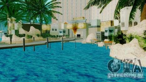 Новый пиратский корабль в Лас Вентурасе для GTA San Andreas третий скриншот