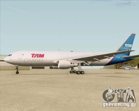 Boeing 767-300ER F TAM Cargo для GTA San Andreas двигатель