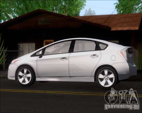 Toyota Prius для GTA San Andreas двигатель