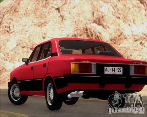 Chevrolet Opala Diplomata 1987 для GTA San Andreas вид сбоку