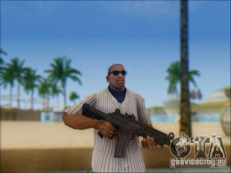 Израильский карабин ACE 21 для GTA San Andreas одинадцатый скриншот