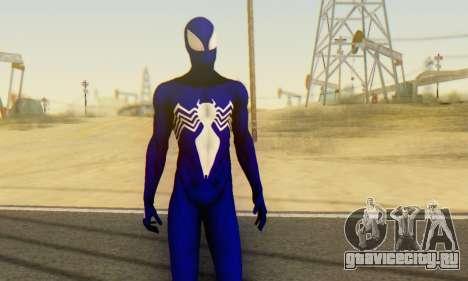 Skin The Amazing Spider Man 2 - Suit Symbiot для GTA San Andreas