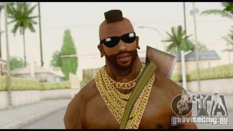 MR T Skin v7 для GTA San Andreas третий скриншот