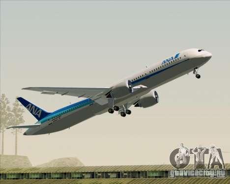 Boeing 787-9 All Nippon Airways для GTA San Andreas салон
