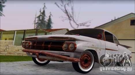 Сhevrolet Biscayne 1959 Ratlook для GTA San Andreas вид справа