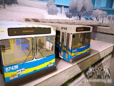 NewFlyer D40LF TransLink Vancouver BC для GTA San Andreas вид сбоку