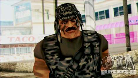 Manhunt Ped 22 для GTA San Andreas третий скриншот