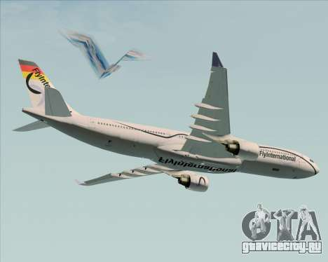 Airbus A330-300 Fly International для GTA San Andreas двигатель