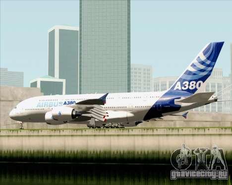 Airbus A380-861 для GTA San Andreas вид справа