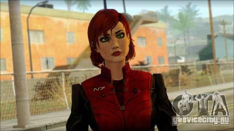 Mass Effect Anna Skin v3 для GTA San Andreas третий скриншот