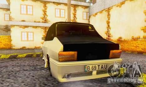 Dacia 1310 B 69 TAU для GTA San Andreas вид сзади слева