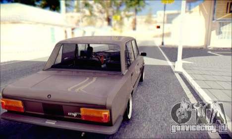 Fiat 125P Shark для GTA San Andreas вид справа
