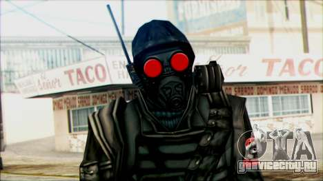 Manhunt Ped 1 для GTA San Andreas третий скриншот