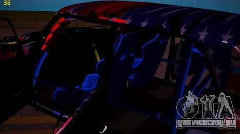 ВАЗ 2105 Drift для GTA San Andreas вид сбоку