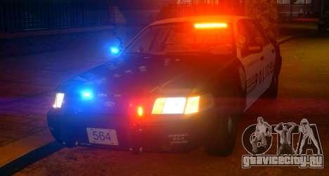 Ford Crown Victoria LCPD [ELS] Slicktop для GTA 4 вид слева