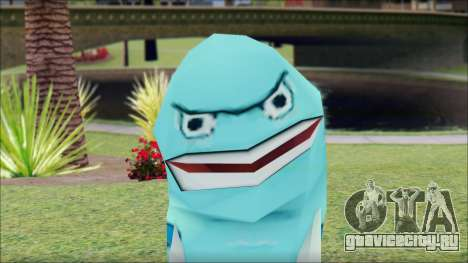 Blufish from Sponge Bob для GTA San Andreas третий скриншот