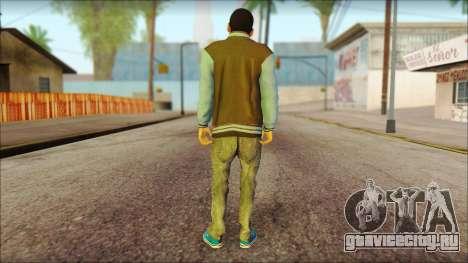 Los Aztecas Gang Skin v2 для GTA San Andreas второй скриншот