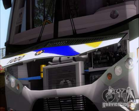 Marcopolo Ideale 770 - Volksbus 17-230 EOD для GTA San Andreas вид изнутри