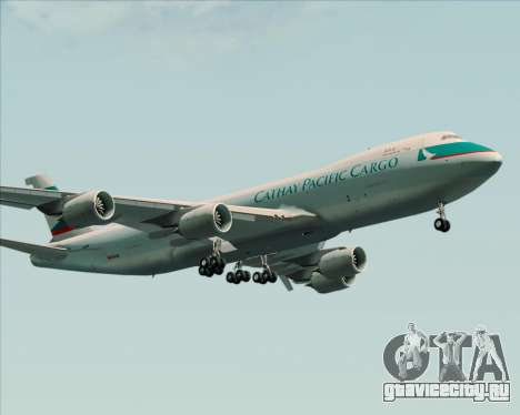Boeing 747-8 Cargo Cathay Pacific Cargo для GTA San Andreas вид сверху