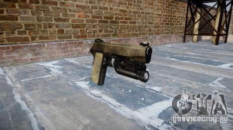 Пистолет Kimber 1911 A-TACS AU для GTA 4