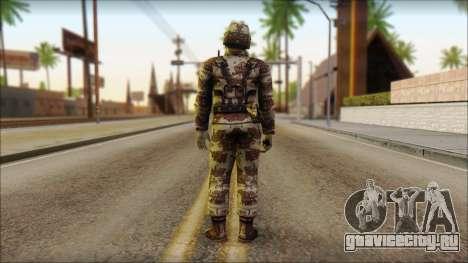 Navy Seal Soldier для GTA San Andreas второй скриншот