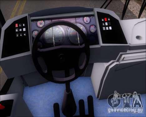 Comil Svelto BRT Scania K310IB 6x2 Sorocaba для GTA San Andreas вид снизу